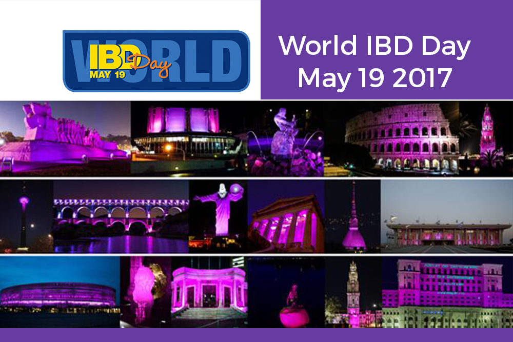 World IBD Day 2017: 38 paesi in quattro continenti