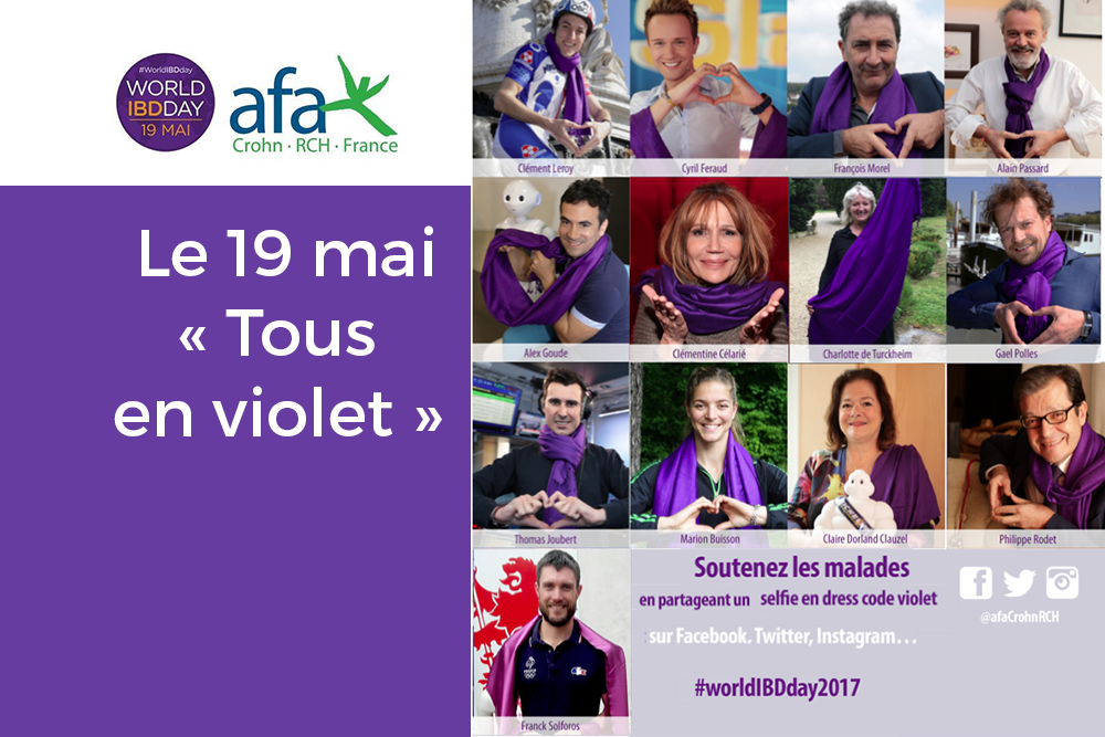 Journée mondiale des MICI 2017: l'AFA plus que jamais mobilisée