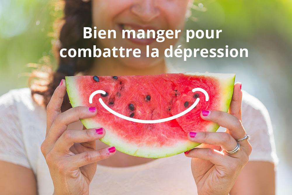 Bien manger pour combattre la dépression