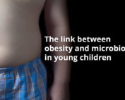 Childhood obesity is written in the microbiota