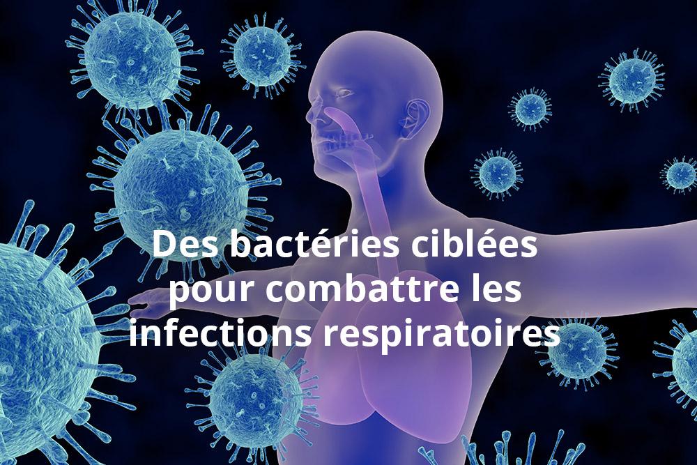 Infections respiratoires, bientôt une alternative aux traitements antibiotiques ?