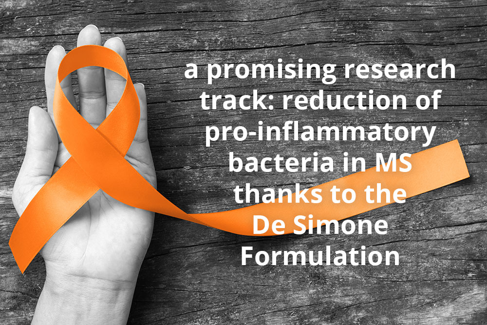 Multiple sclerosis (MS), probiotics to lower the inflammation
