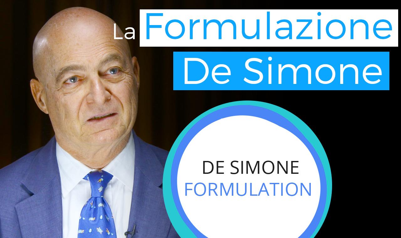 La formulazione De Simone