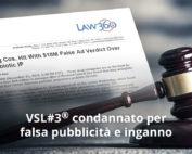 Una sentenza importante contro il VSL#3 ®